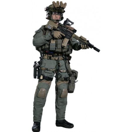 FBI - COLLECTIBLE FIGURINE 1/6 FBI SWAT TEAM AGENT - SAN DIEGO (DAM 78044A) - DAMTOYS