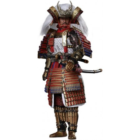 Takeda Shingen (Exclusive version) Collectible FIGURE 1/6 scale ERIES OF EMPIRES (DIECAST ALLOY) – TAKEDA SHINGEN A. K. A. TIGER OF KAI (EXCLUSIVE VER.) (SE040) - COOMODEL