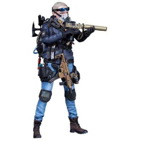 THE DARKZONE AGENT - TRACY R-VERSION VM-019 - VTS TOYS