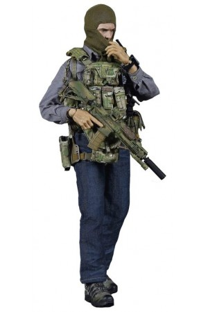Lone Savior - Collectible figure 1/6 Scale Tier 1 SMU Part VIII Lone Rescuer (ES 26032) - Easy & Simple