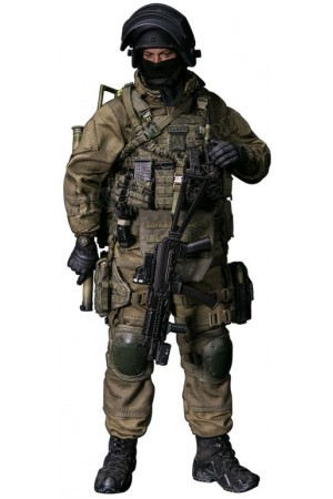RUSSIAN SPETSNAZ MVD - SOBR LYNX COLLECTIBLE FIGURE 1/6 SCALE  (78059) - DAMTOYS