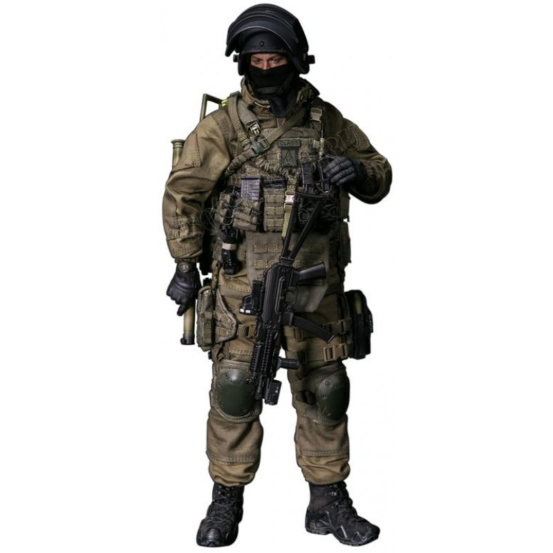 Russian Spetsnaz Photo Russiansoldier001: SOBR LYNX COLLECTIBLE FIGURE 1/6