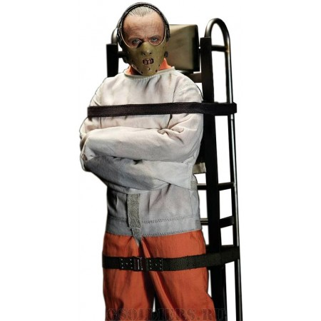 Hannibal Lecter Straitjacket ver. Sixth Scale Collectible Figure (BW-UMS10302) - BLITZWAY