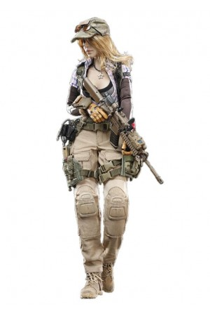 Military girlfriend Vicky - Collectible figurine 1/6 COMBAT GIRL series Gemini Vicky (DCG002) - DAMToys