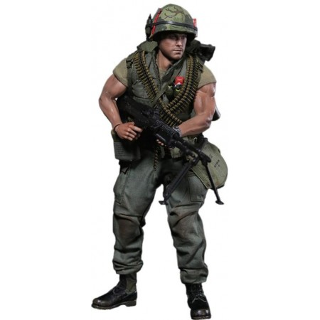 HISTORY SERIES U.S.MARINE (TETOFFENSIVE,1968)-VIETNAM WAR - 1/6 SCALE COLLECTIBLE ACTION FIGURE (DAM 78038) - DAMTOYS