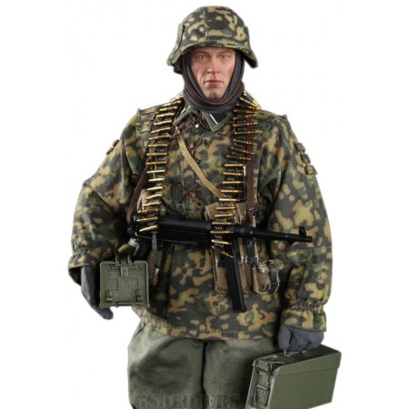 "3rd SS-Panzer-Division MG34 Gunner Ver. B ""Baldric"" (D80125) -1/6 Scale Collectible Action Figure - DID"
