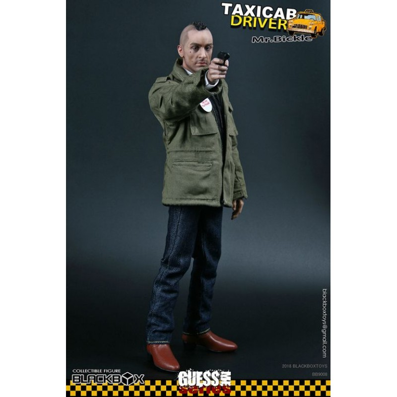 """BLACKBOX TOYS Taxi Driver /""""Mr 1:6 Guess Me Series 8 Bickle/"""" Jeans"""
