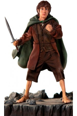 Frodo Baggins (the Hobbit, the Lord of the rings) COLLECTIBLE FIGURE (figurine) Frodo 1/10 BDS 1/10 Art Scale - Lord of the Rings (WBLOR16219-10) - Iron Studios