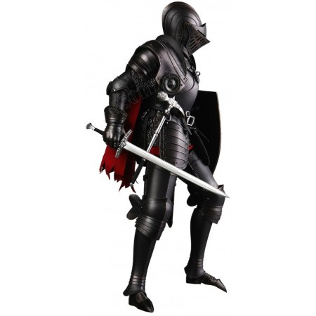 THE BLACK KNIGHT, DIE-CAST ALLOY SERIES OF EMPIRES, KNIGHTS OF THE REALM -  (SE035) - COOMODEL