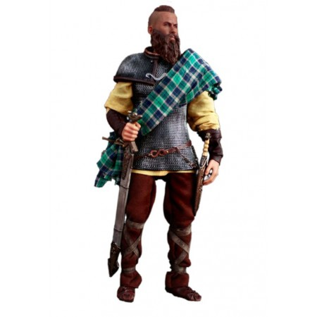 Celtic (Gallic) warrior - collectible figurine 1/6 (KP11A) - Kaustic Plastik