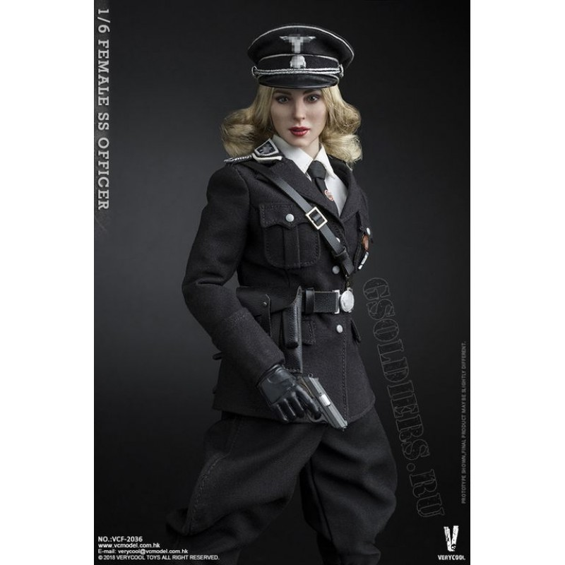 Female Ss Officer Vcf 2036 1 6 Scale Collectible Action Figure Verycool