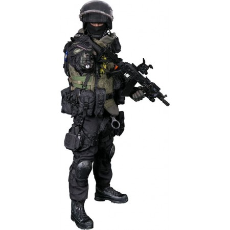 "The FSB special forces ""alpha"" - Collectible FIGURE 1/6 scale RUSSIAN SPETSNAZ FSB ALPHA GROUP (78064) - DAMTOYS"