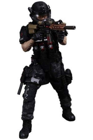 Collectible figurine 1/6 GHOST SERIES - TITANS PMC - Frank Casey (SF002) - DAMToys
