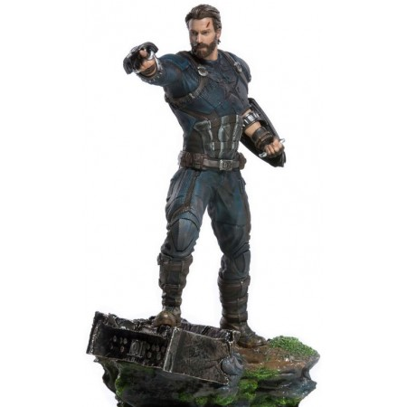 Marvel Captain America 1/10 Scale - Avengers: Infinity War - Iron Studios